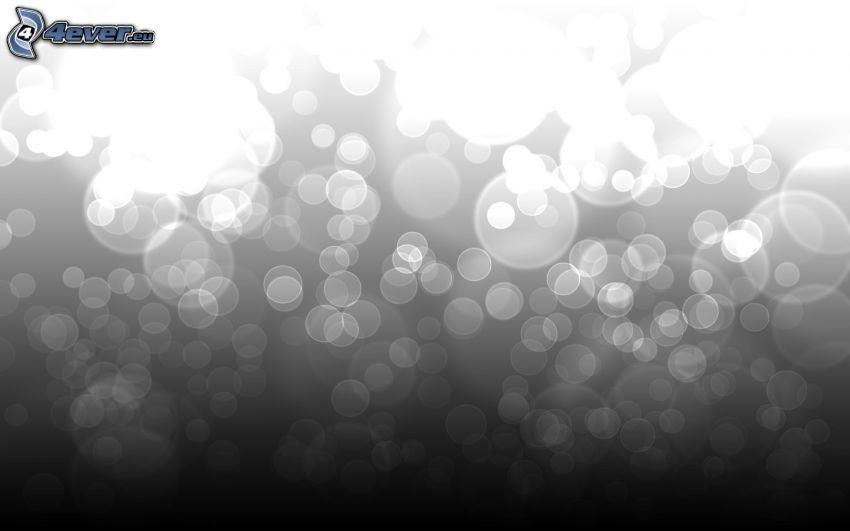 cerchi, bianco e nero