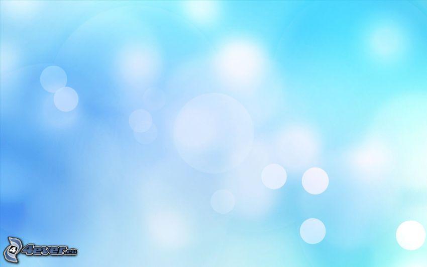 cerchi, sfondo blu