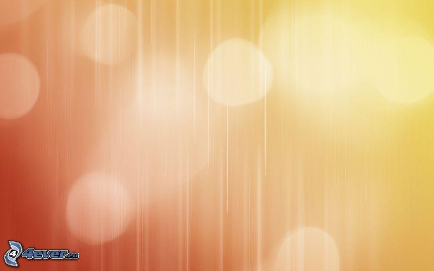 cerchi, sfondo giallo, sfondo arancione, linee bianche