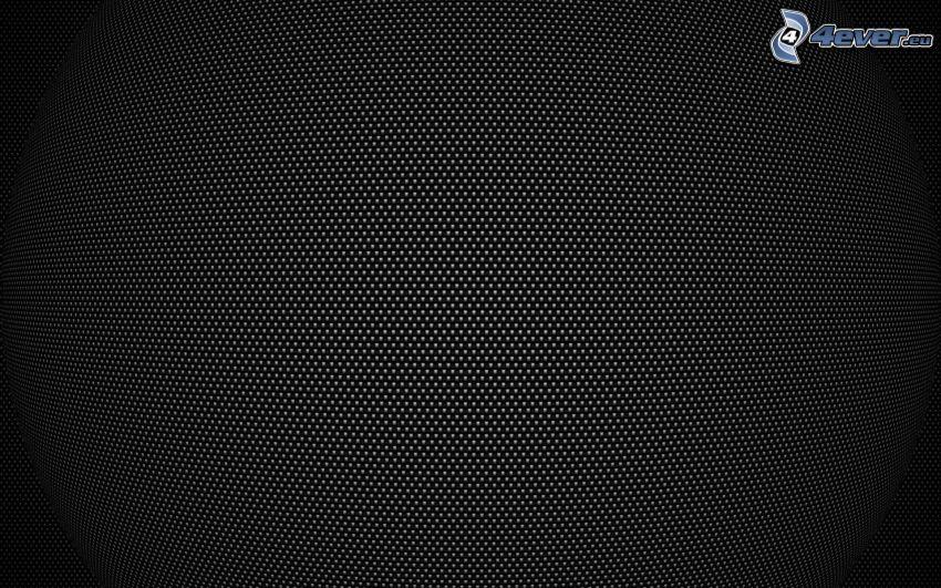 cerchi, sfondo nero, bianco e nero
