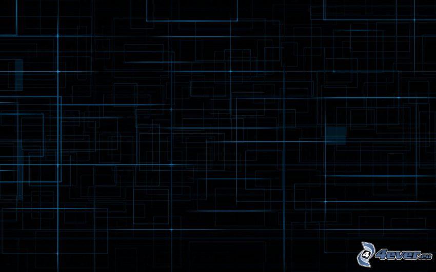 linee, quadrati, rettangoli astratti