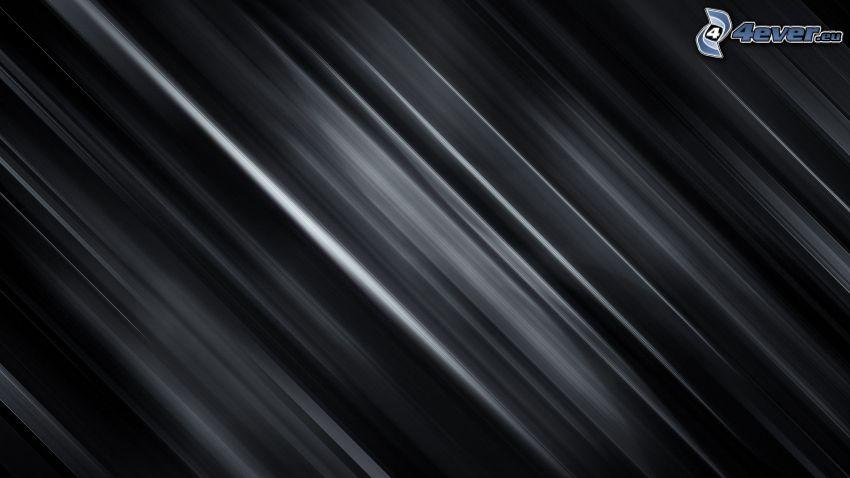 linee bianche, sfondo nero