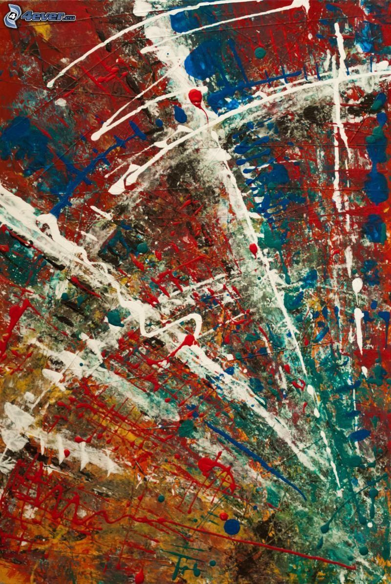 linee colorate, sfondo astratto