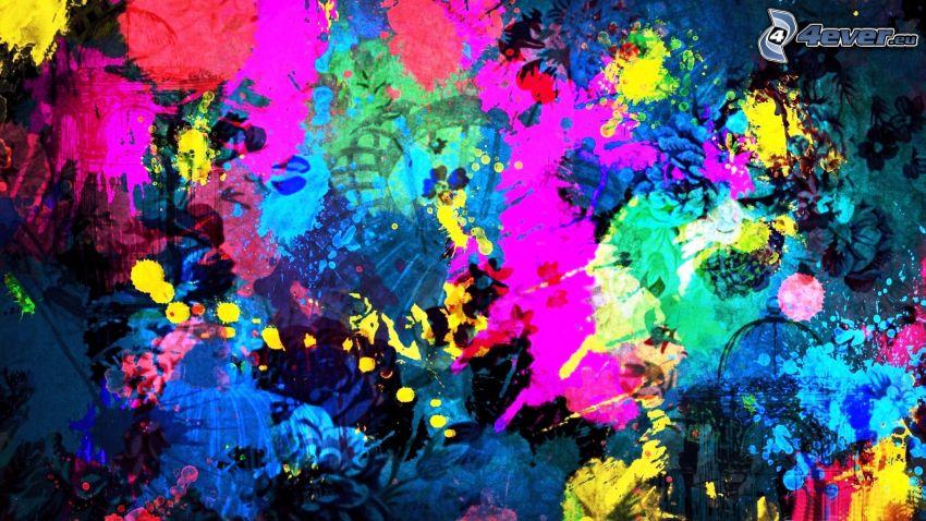macchie colorate