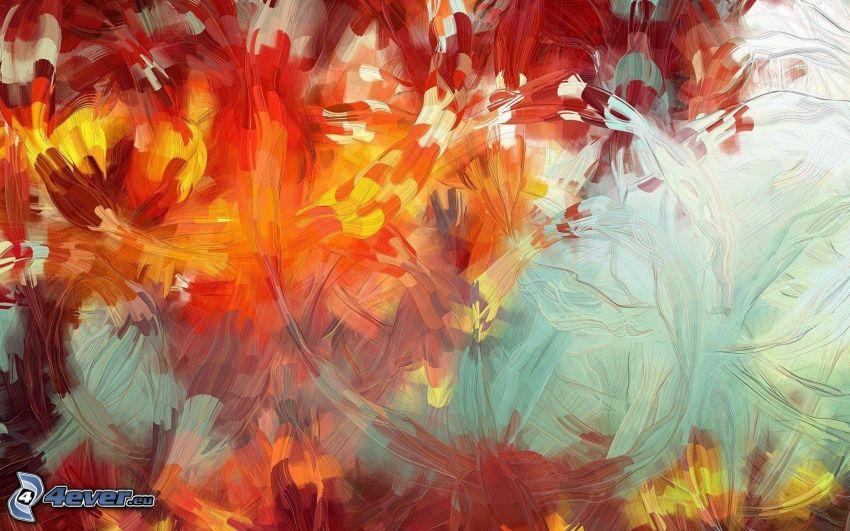 pittura astratta