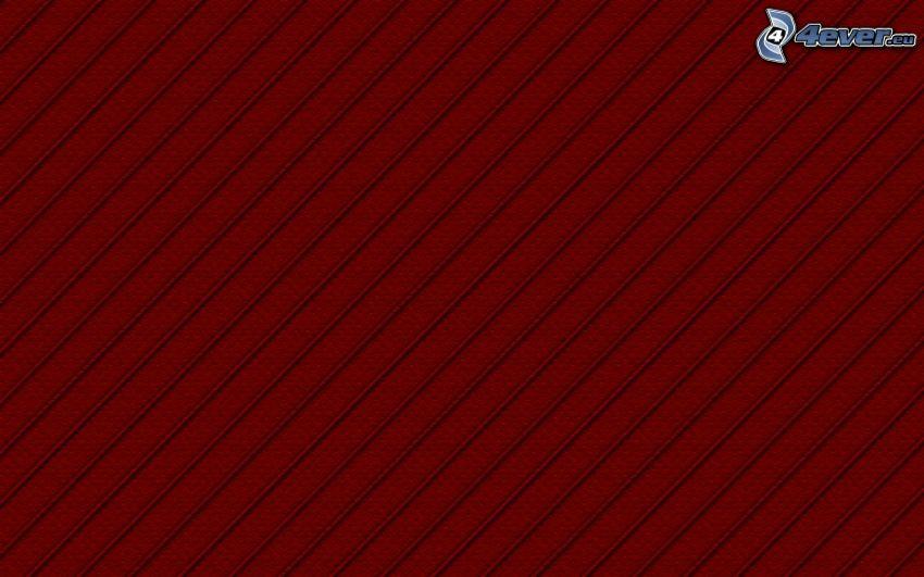 righe, sfondo rosso