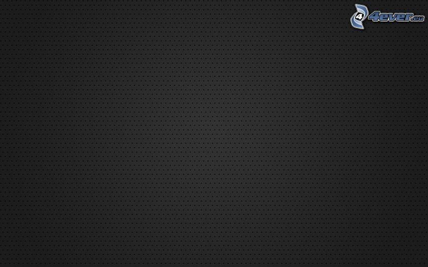 sfondo nero, punti