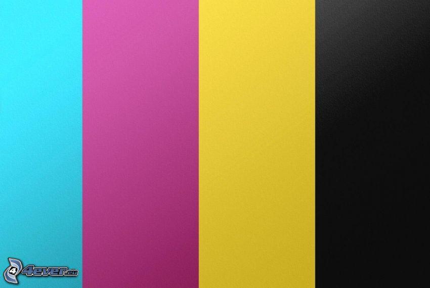 strisce colorate