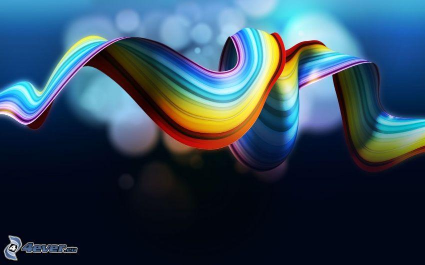 strisce di arcobaleno
