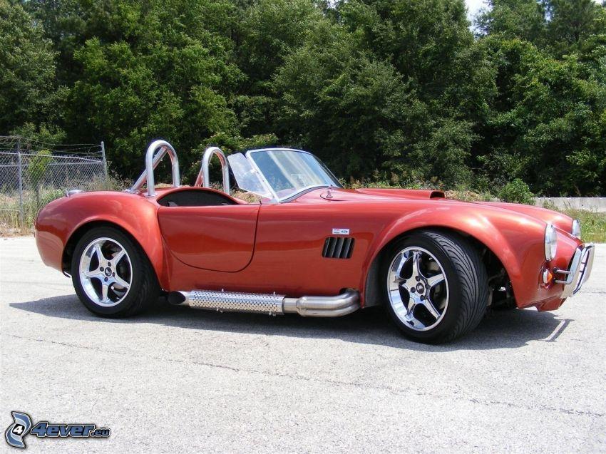 AC Cobra MK, veicolo d'epoca, cabriolet