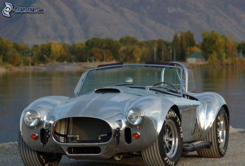 AC Cobra MK, veicolo d'epoca, lago