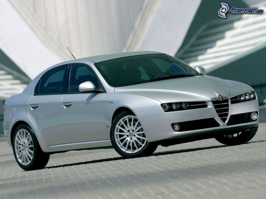 Alfa Romeo 159, piastrelle
