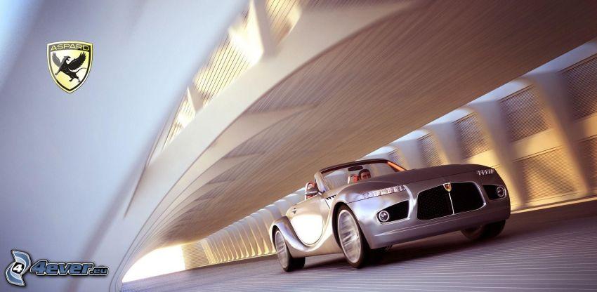 Aspard, cabriolet, velocità