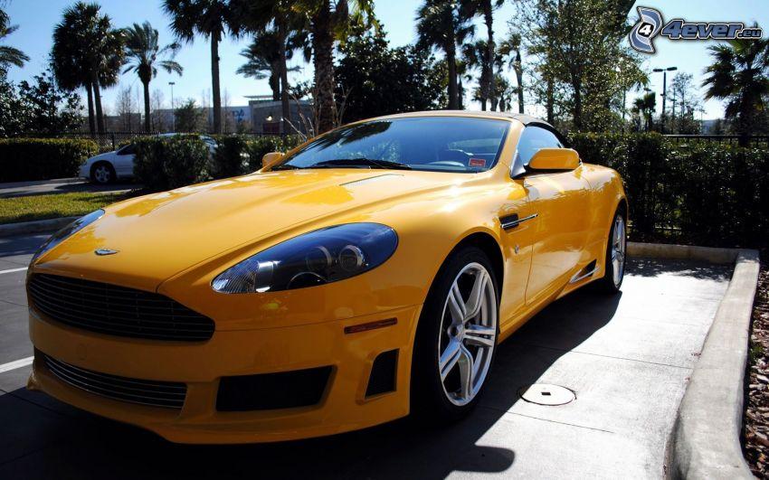 Aston Martin, parcheggio