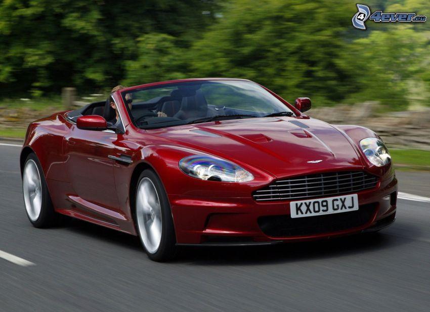 Aston Martin DBS, cabriolet, velocità