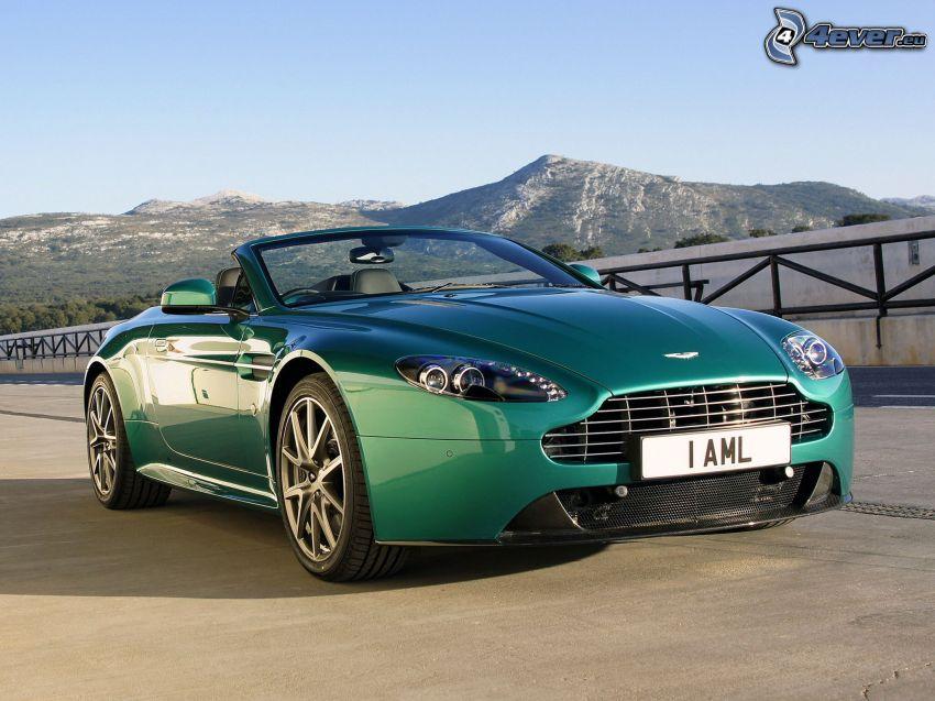 Aston Martin V8 Vantage, cabriolet