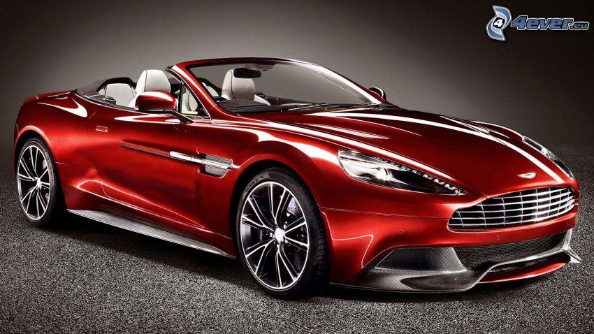 Aston Martin Vanquish, cabriolet