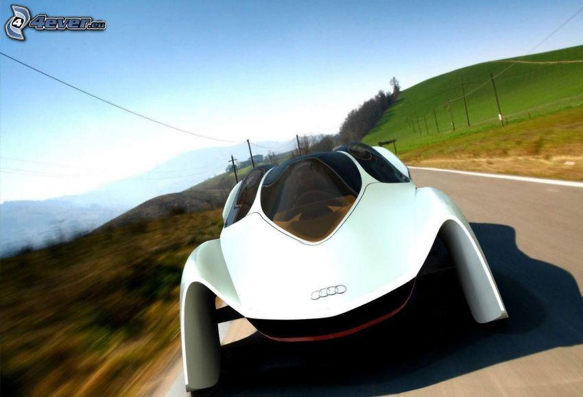 Audi, concetto, velocità