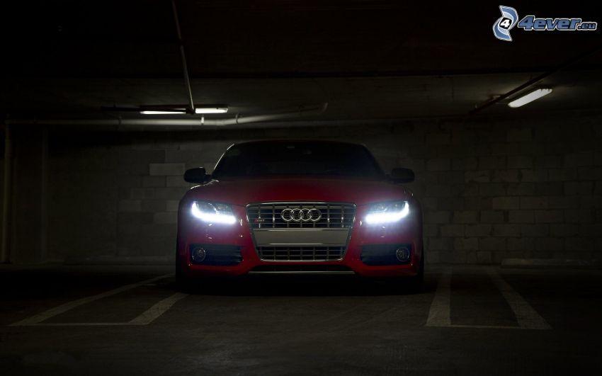 Audi, garage