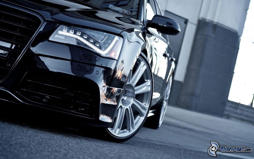 Audi A8, riflettore, cerchioni