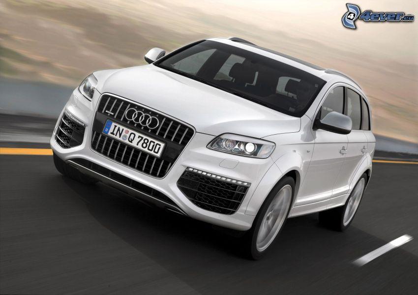 Audi Q7, velocità