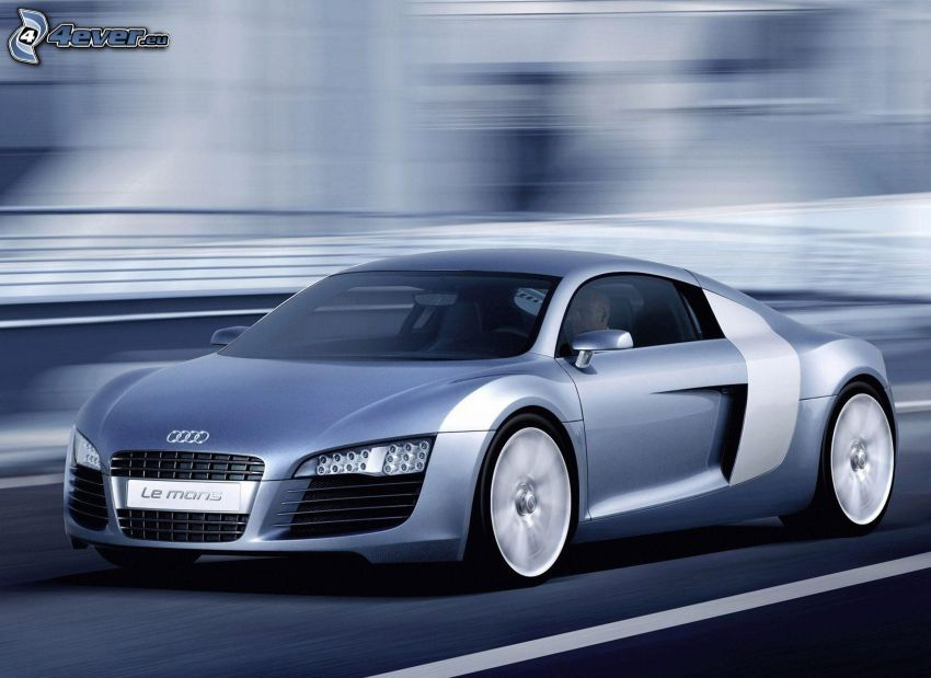 Audi R8 Le Mans, velocità