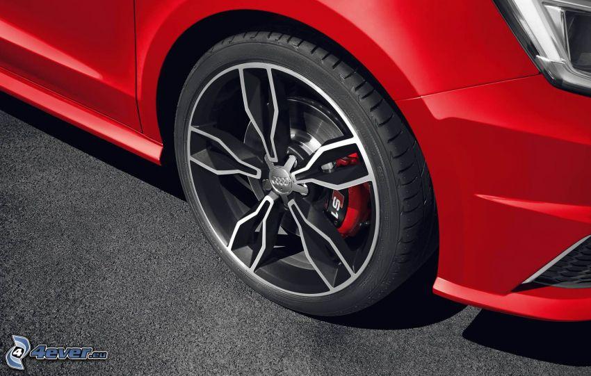 Audi S1, ruota