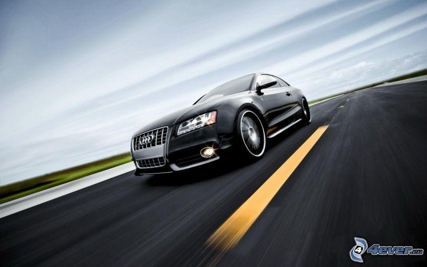 Audi S5, strada, velocità