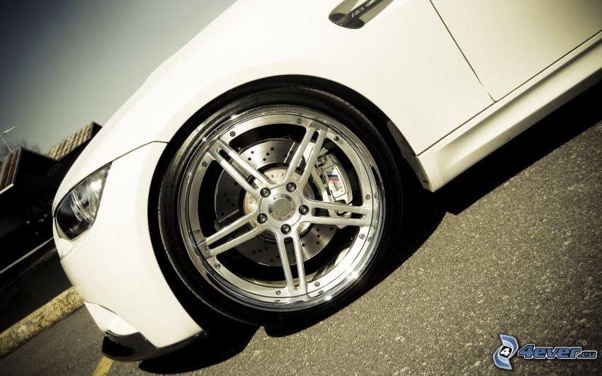 BMW, ruota, cerchione, freno