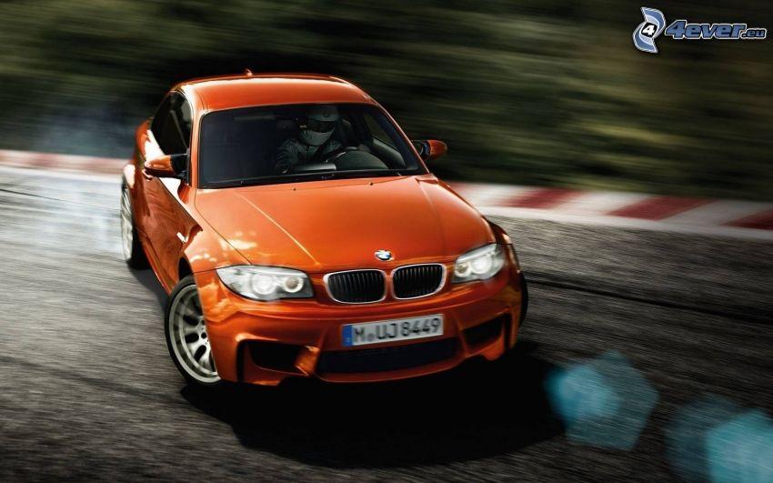 BMW 1, drifting