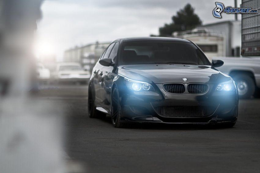 BMW 5, BMW E60, luci