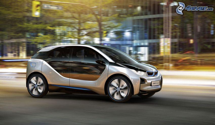 BMW i3 Concept, velocità