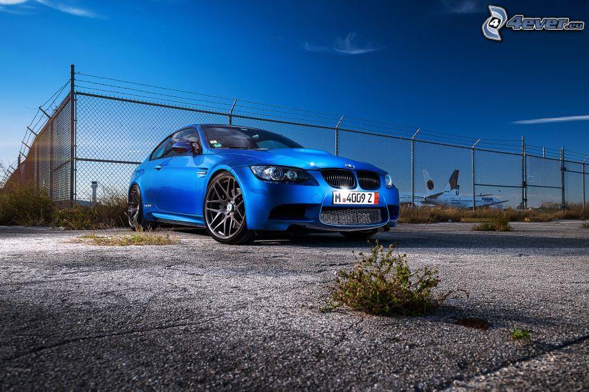 BMW M3, recinto, aereo