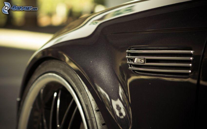 BMW M3, ruota