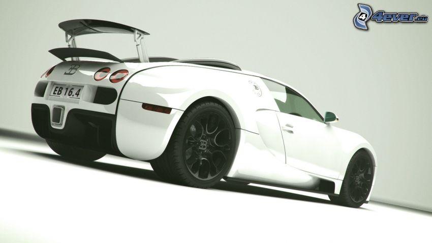 Bugatti Veyron, auto sportive