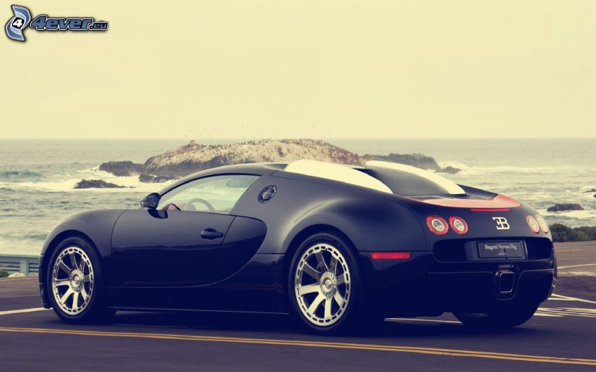 Bugatti Veyron, mare