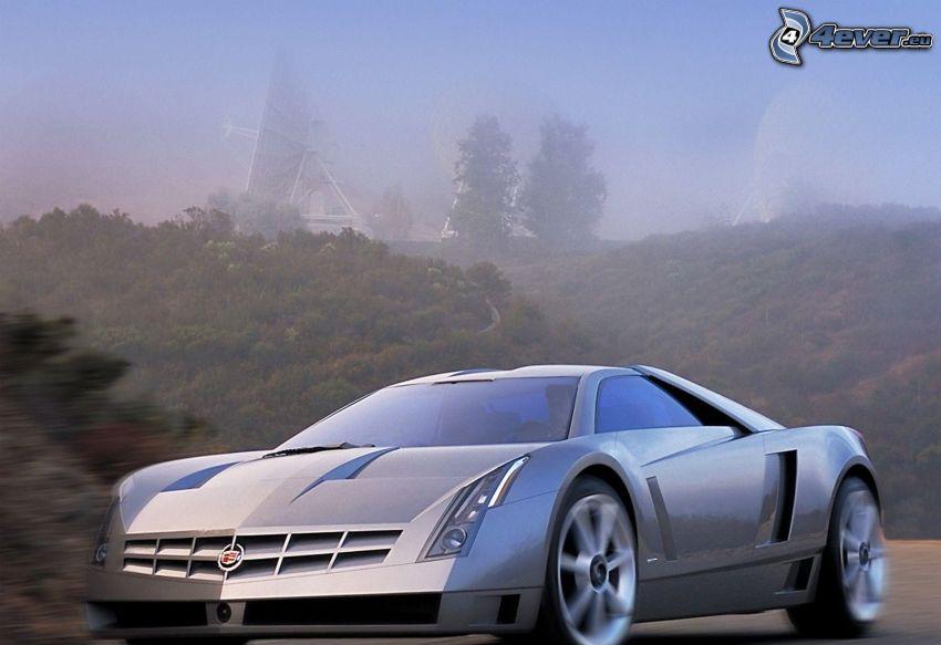 Cadillac Cien, velocità