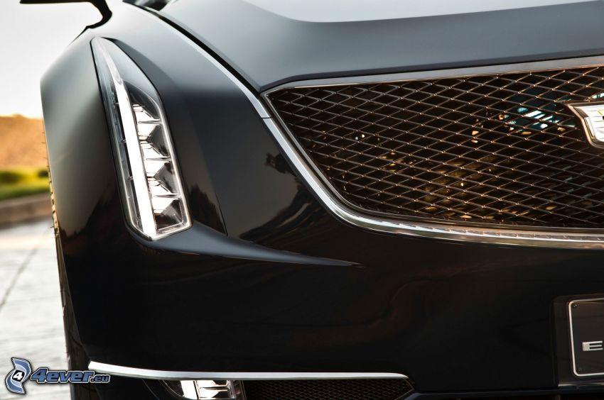 Cadillac Elmiraj, riflettore, griglia anteriore