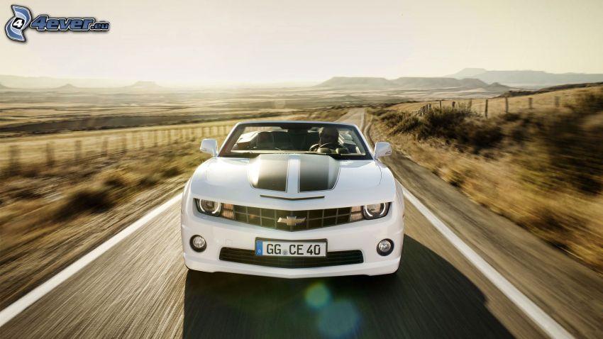 Chevrolet Camaro, strada, velocità