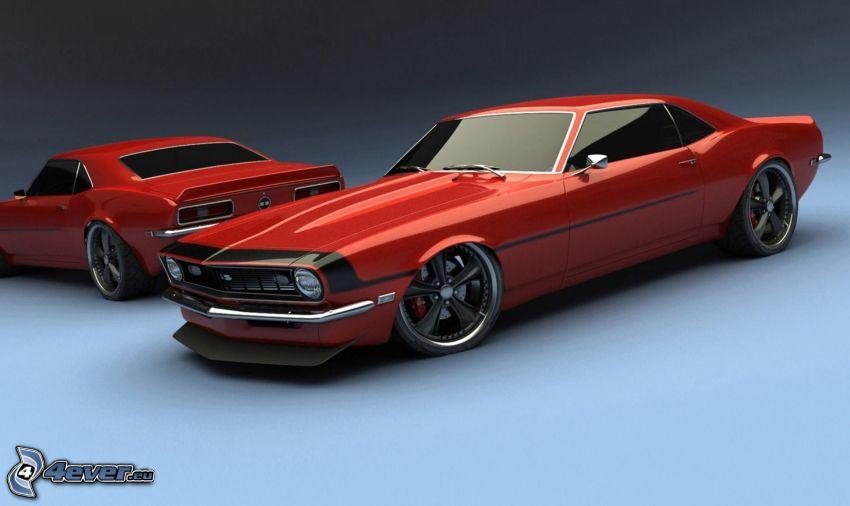 Chevrolet Camaro, veicolo d'epoca