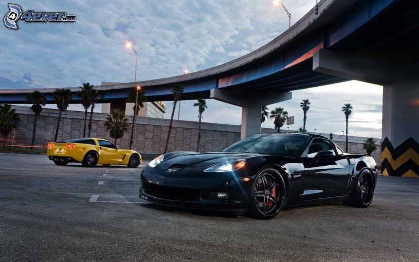 Chevrolet Corvette, sotto il ponte