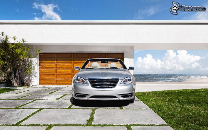 Chrysler 200 Convertible, cabriolet, garage