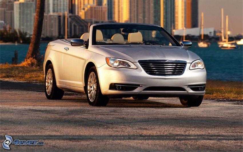 Chrysler 200 Convertible, cabriolet, grattacieli
