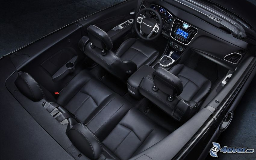 Chrysler 200 Convertible, cabriolet, interno