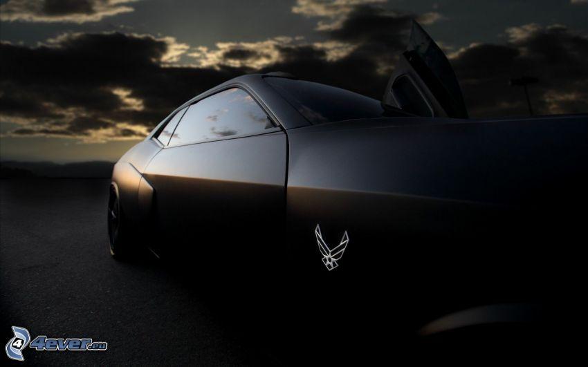 Dodge Challenger, notte