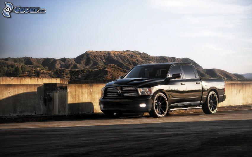 Dodge Challenger, SUV, montagna