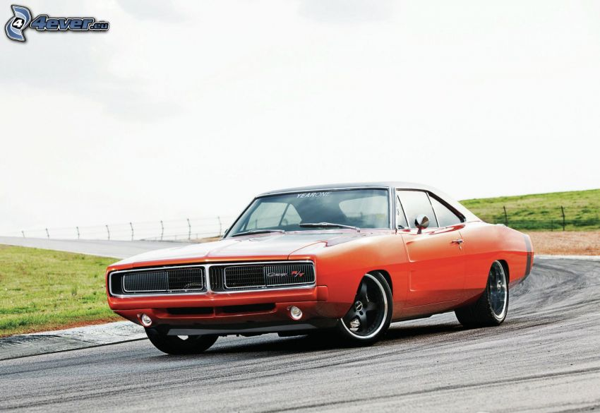 Dodge Charger, curva