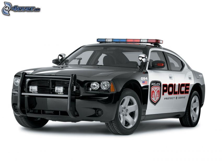 Dodge Charger, polizia