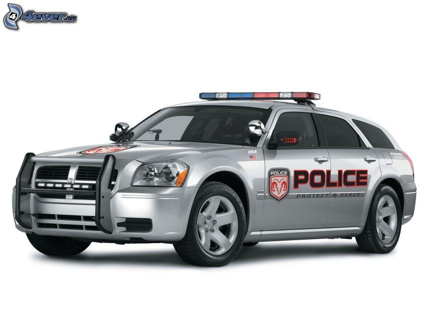 Dodge Magnum, polizia