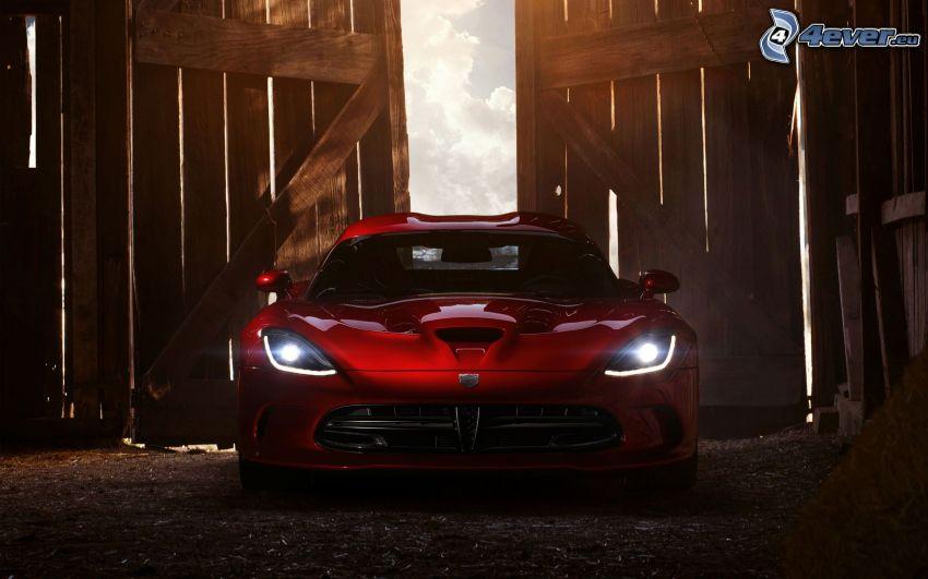 Dodge Viper, porta di legno